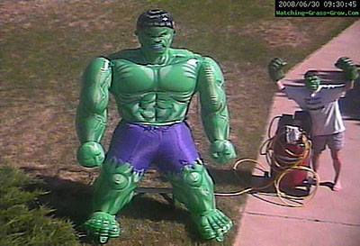 pumping up hulk
