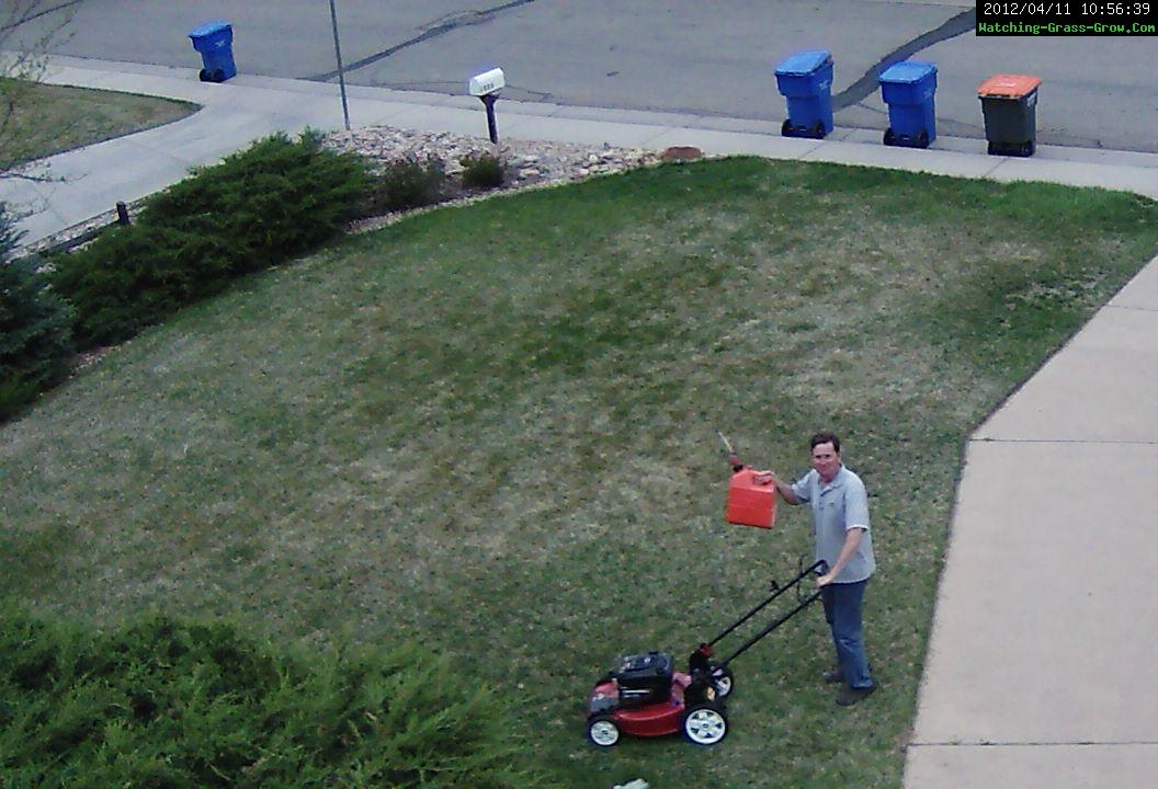 first mow 2012