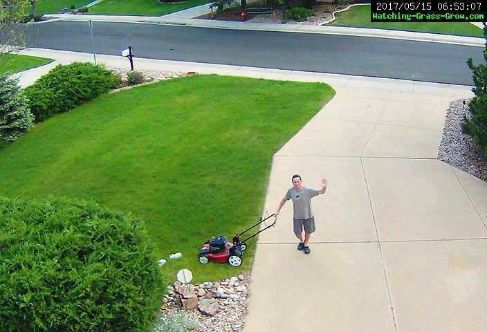lawn mowing 5/15