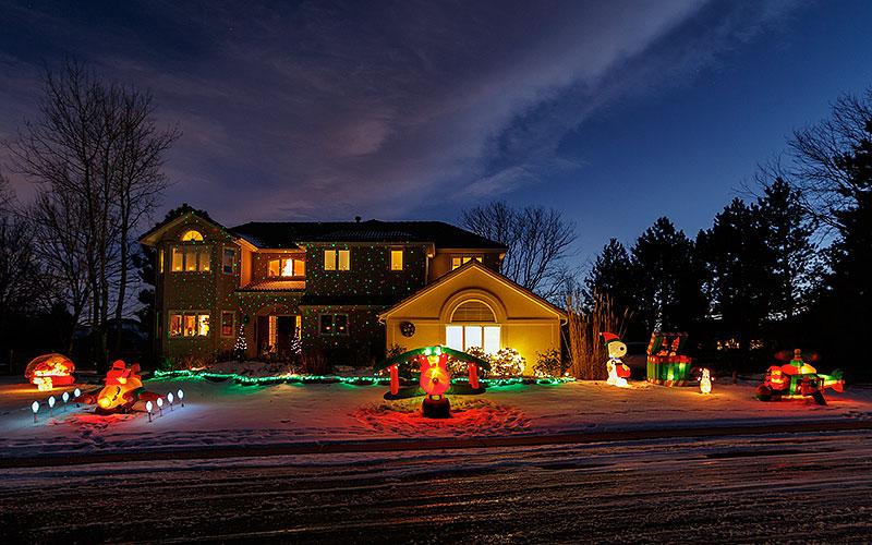 Neighbors Christmas Lights