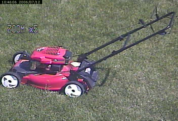 My Nifty Red Toro Lawn Mower At Zoom X5